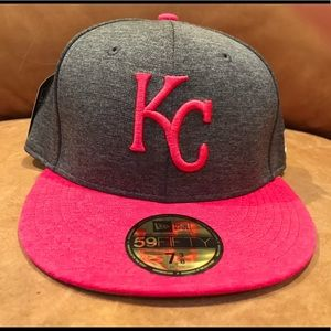 New Era Kansas City Royals 59Fifty Pink Fitted Hat